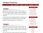 bryantsmith template SimpleFactorial
