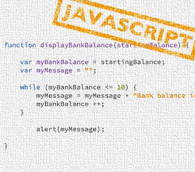 Sample JavaScript code