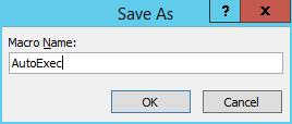 Create a Macro in Microsoft Access 2013