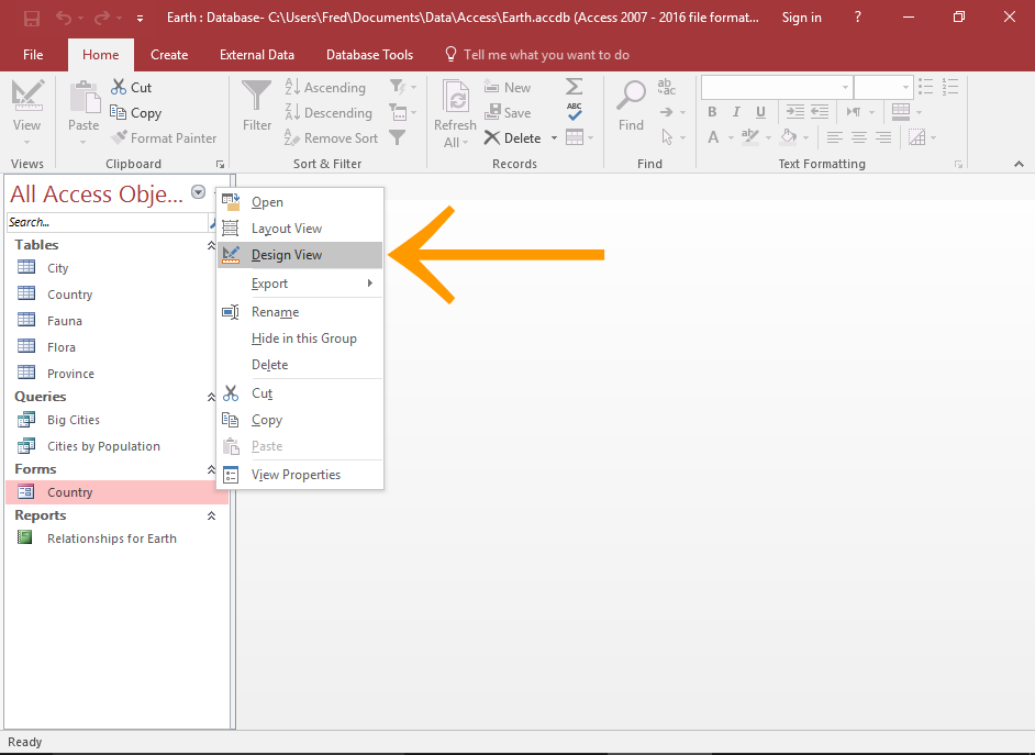 How to Add a Subform to a Form in Access 2016