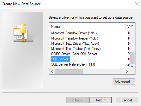 How to Import a SQL Server Database into Access 2016