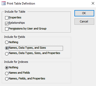 How to use the Database Documenter in Access