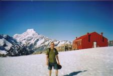 Mueller Hut, Mount Cook, and I