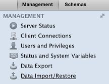 Import Data to a MySQL Database