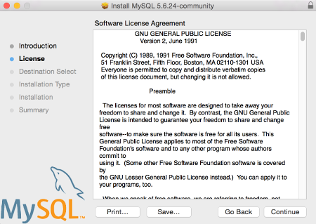 MySQL Installation Screen 4
