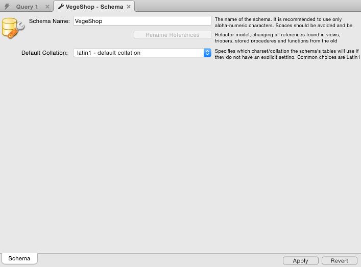 create a database using mysql workbench