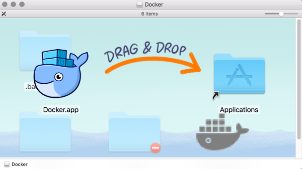 Docker CE for Mac installation screen