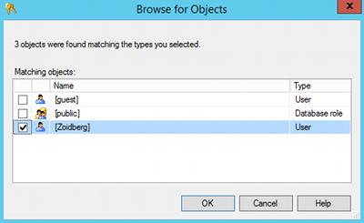Creating a database schema in SQL Server 2014 Management Studio- 5