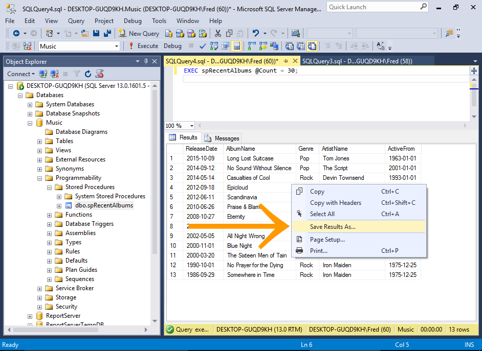 Image gallery query results for Sql server table design query